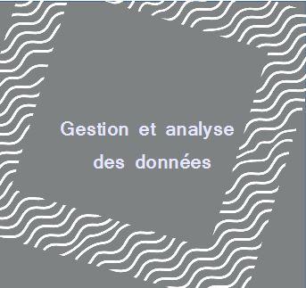 Gestion et analyse des données