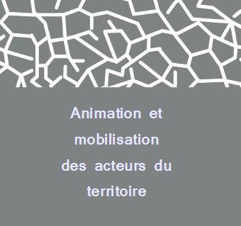 Logo de la rubrique Animation et mobilisation du territoire